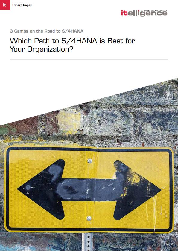 3 Paths to S/4HANA