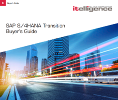 SAP S/4HANA Transition Buyer's Guide