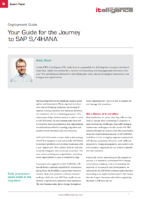 Journey to SAP S/4HANA