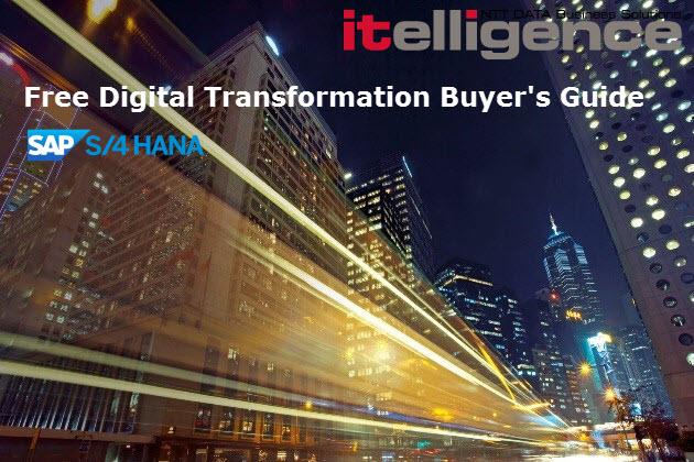 Free Digital Transformation Buyer's Guide